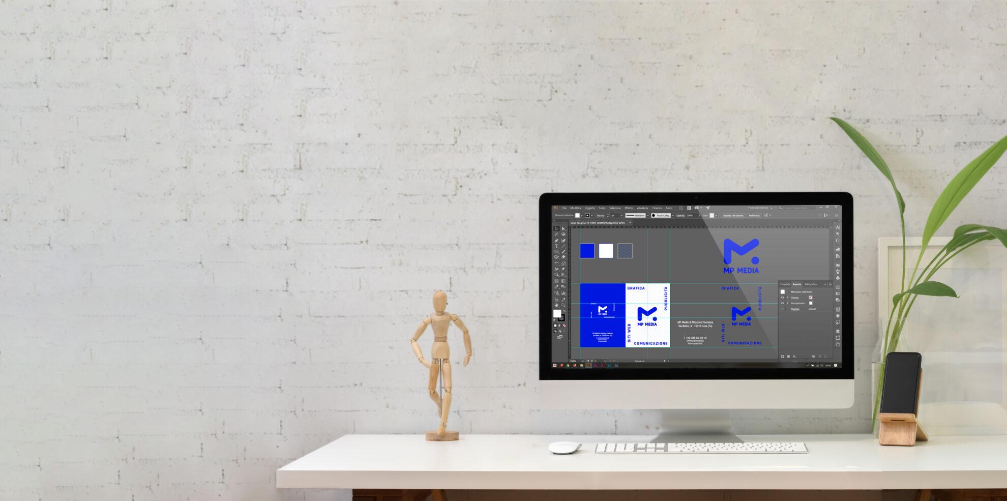 Realizzazione brochure da computer