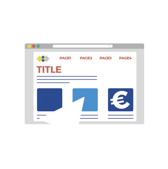 Icona realizzazione siti web
