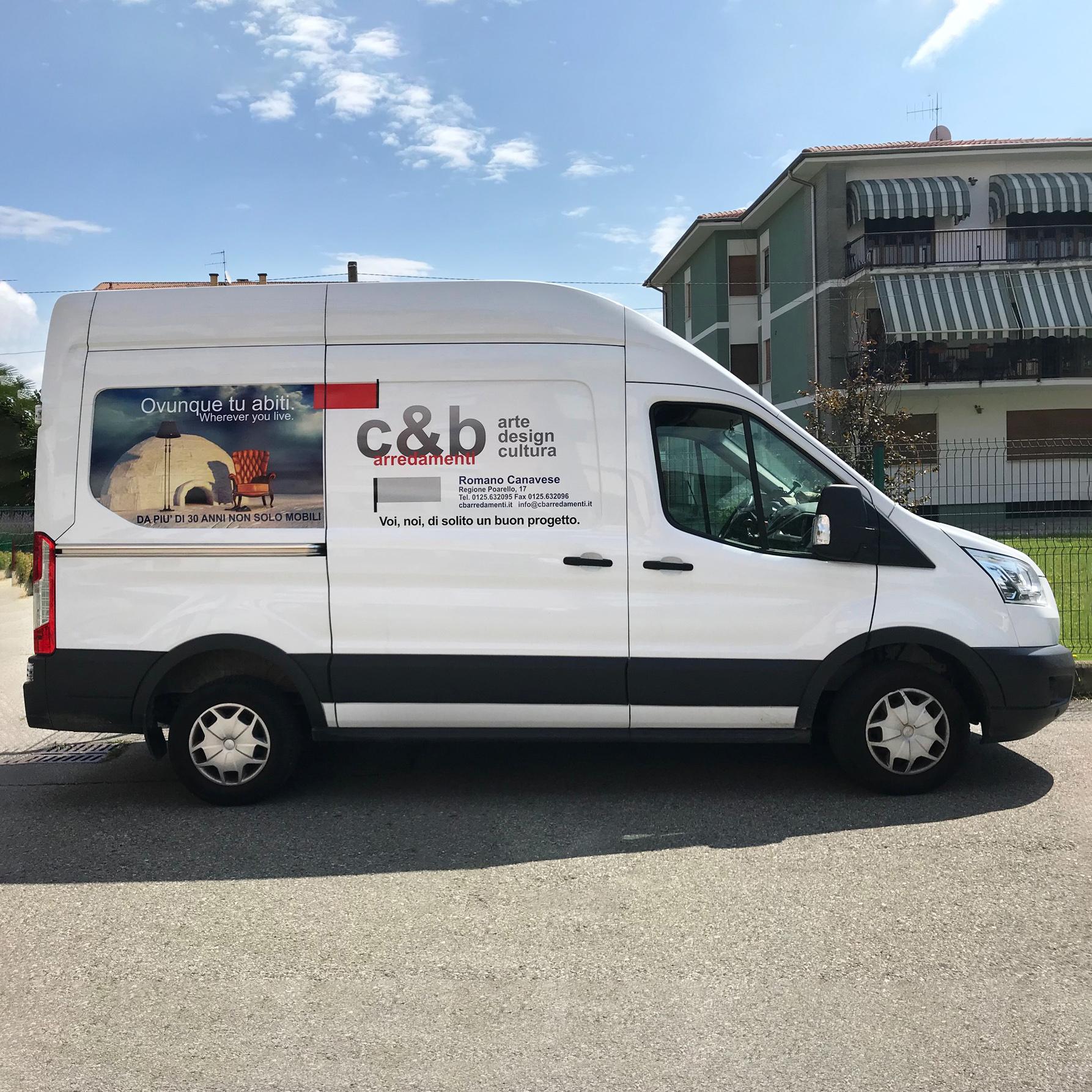 Wrapping furgoncino C&B Arredamenti