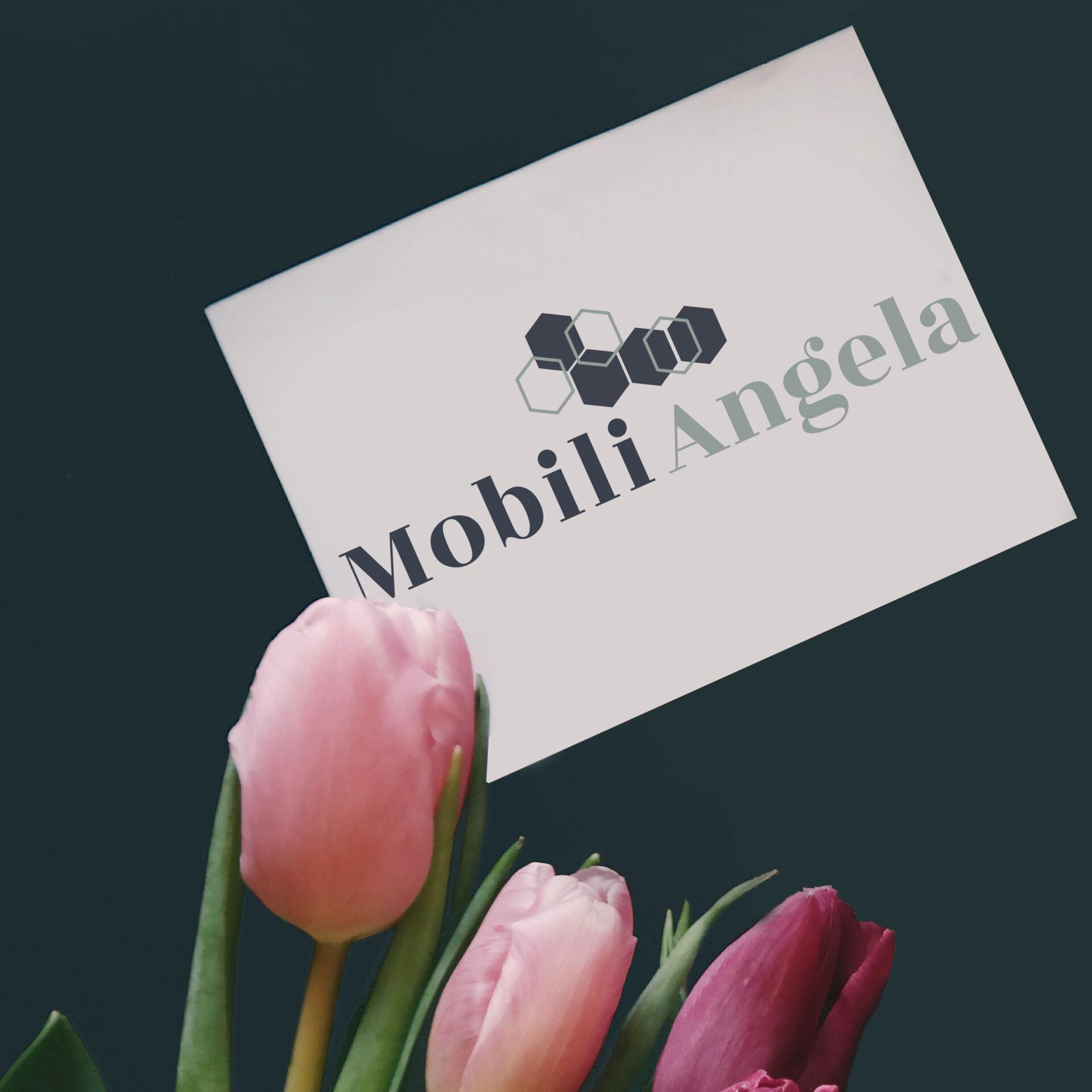 Biglietto da visita logo Mobili Angela